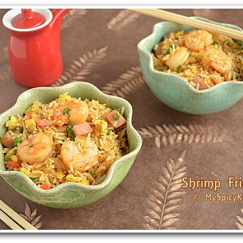 Shrimp & Ham Fried Rice