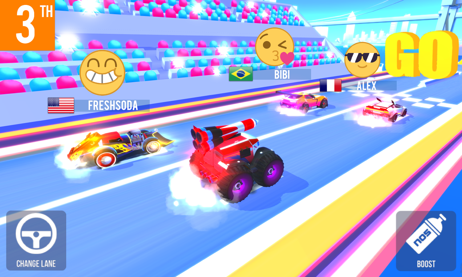 SUP Multiplayer Racing Screenshot 5