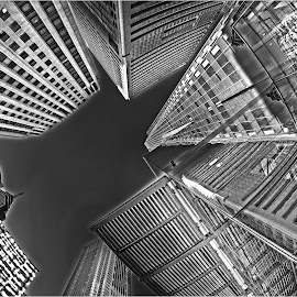 by Dennis Bartsch - Black & White Buildings & Architecture