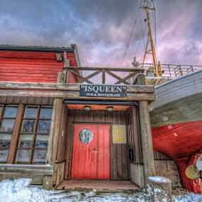 Icequeen restaurant by Benny Høynes - Buildings & Architecture Other Exteriors ( nature, whale, restaurant, boat, norway )