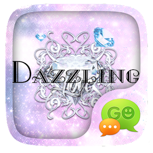 (FREE) GO SMS DAZZLING THEME For PC