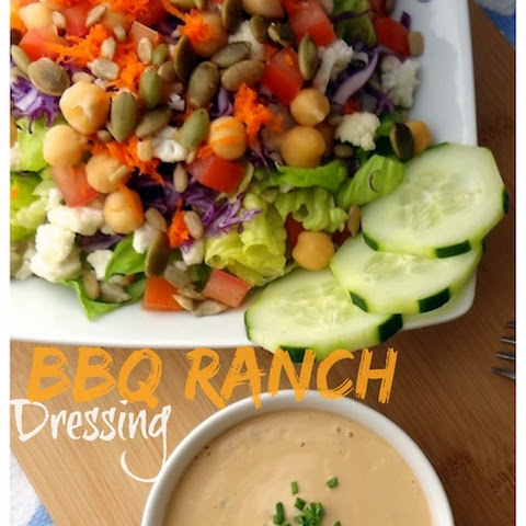 Vegan BBQ Ranch Dressing – oil free