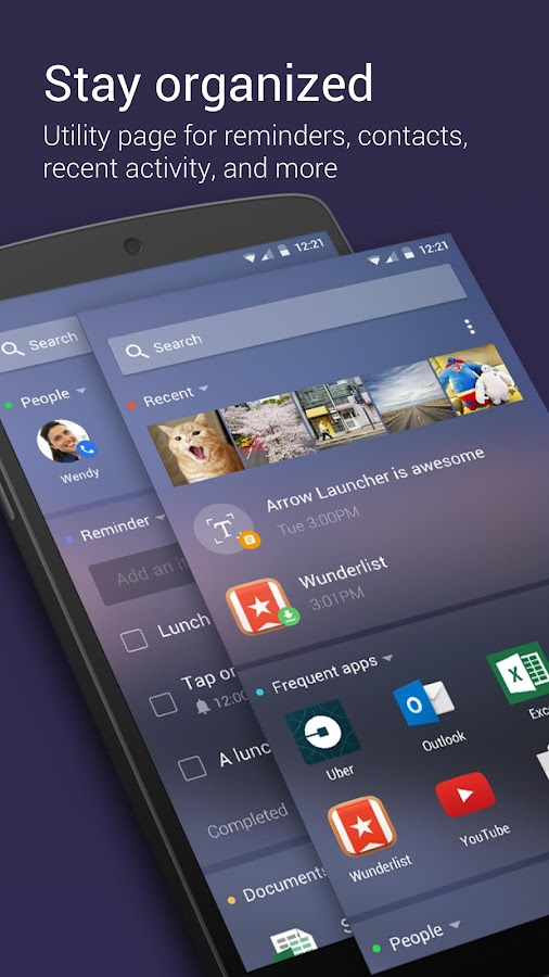 Arrow Launcher Screenshot 1