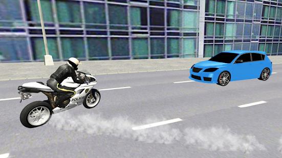 Polizei-Motorradfahrer android spiele download