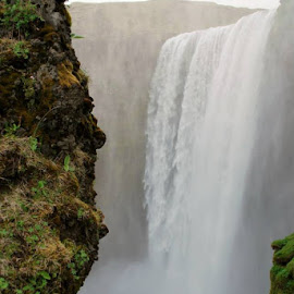 Skogafoss Waterfall in Iceland by Kelsey Hanson - Landscapes Travel