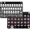 Diamond Skull iKeyboard Theme