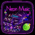 Neon Music GO Keyboard Theme APK for Bluestacks