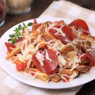 Low-Calorie Pepperoni Pizza French Fries