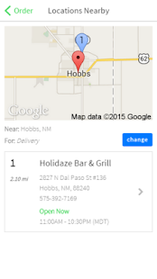 Holidaze Bar & Grill - screenshot