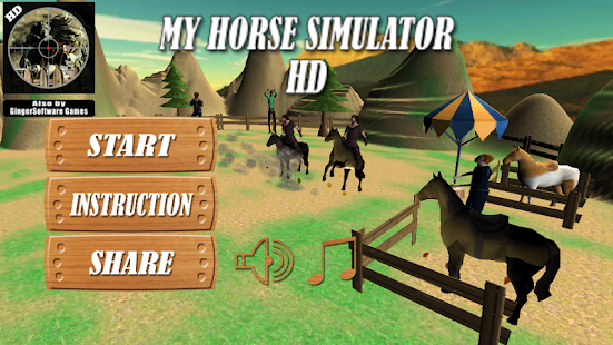 My Horse Simulator HD - screenshot