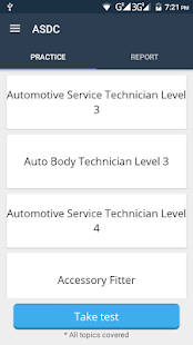 ASDC Automotive Skills Prep - screenshot
