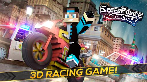 Speed Police Motorcycle Racing - screenshot