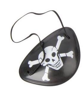 """Праздник, Праздник """"Игровой Набор Пират"""" Повязка Бокс/84шт."""
