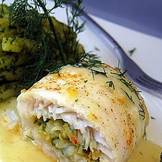 Shrimp Stuffed Fish Fillets Recipes