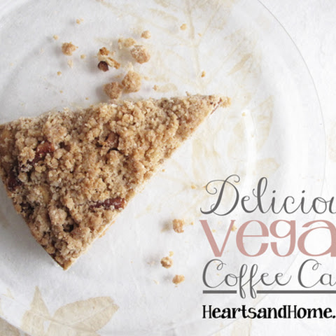 Delicious Vegan Coffee Cake