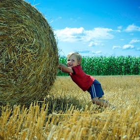 Lovro by Marina Jambrec - Babies & Children Children Candids ( kids playing in summer, jambrec, marina, photography )