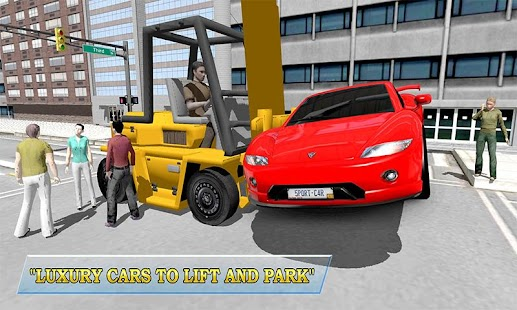 Real Car Forklift simulator 3D - screenshot