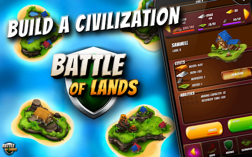 Battle of Lands - Build Empire- screenshot thumbnail