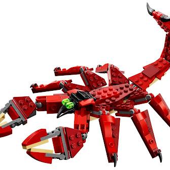 Красные существа