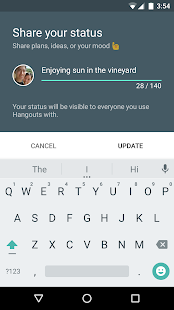 Hangouts- screenshot thumbnail