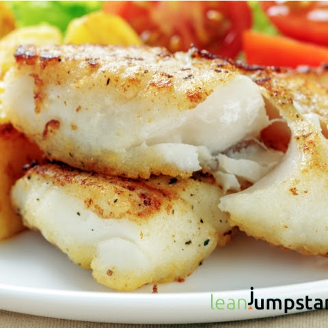 Clean Eating Cod Fish