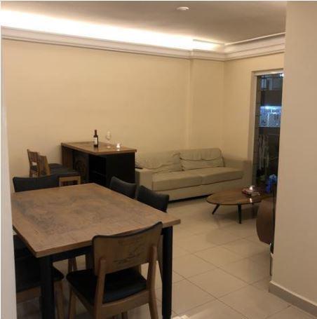 Apartamento com 2 dormitórios à venda, 113 m² por R$ 320.000 - José Menino - Santos/SP