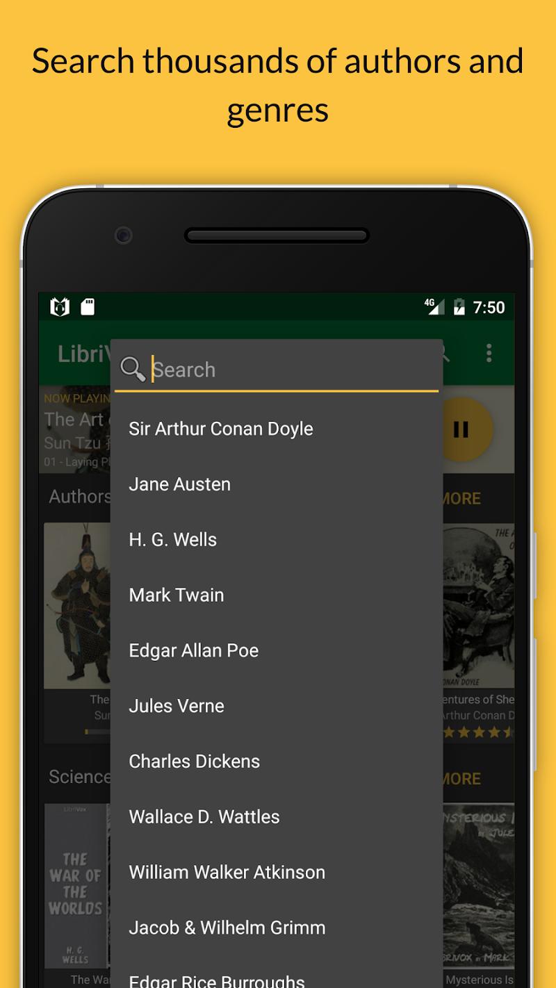 LibriVox Audio Books Supporter Screenshot 3