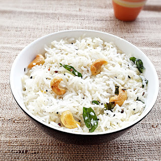 Coconut rice recipe - How to make easy Indian coconut rice