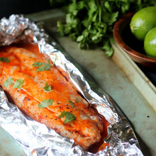 Sweet and Spicy Sriracha Red Snapper
