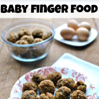 Quinoa Meatballs Baby Finger Food
