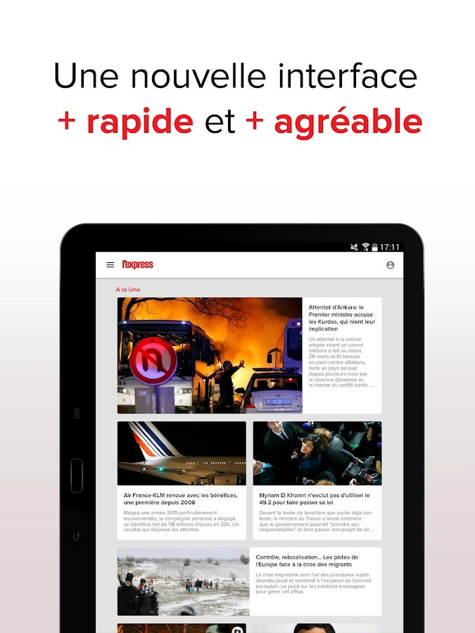 L'Express : l'actu en continu Screenshot 16