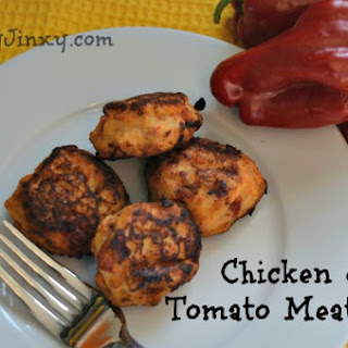 Chicken and Tomato Meatballs