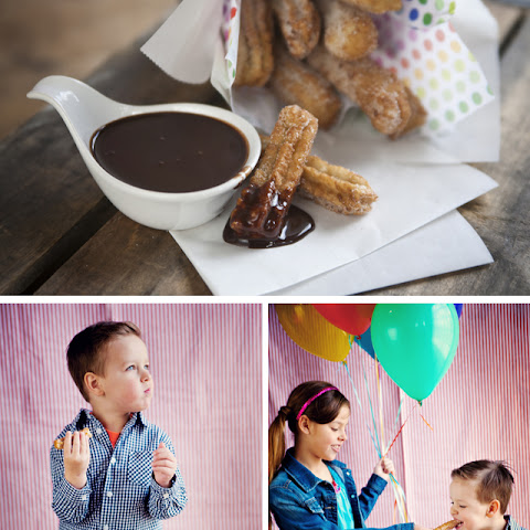 Churros & Mexican chocolate sauce