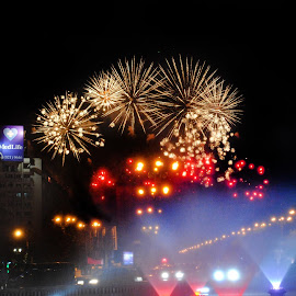 Sneak Peek Bucharest 555 - to be continued ;) by Oana Maria - Abstract Fire & Fireworks