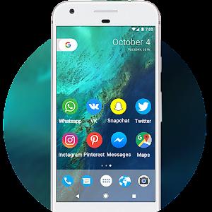 Free Download Pixel Theme - Nougat 7.1 UI APK for Blackberry