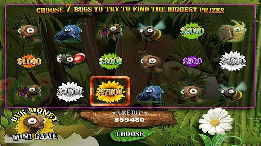 Big Money Bugs Slots PREMIUM - screenshot