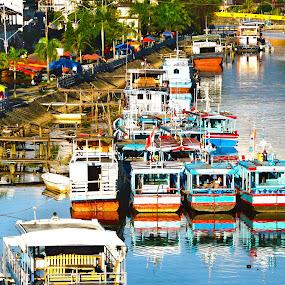 Off Day by Mohd Khairil Hisham Mohd Ashaari - Transportation Boats ( harbor, ship, lifestyle, harbour, boat,  )
