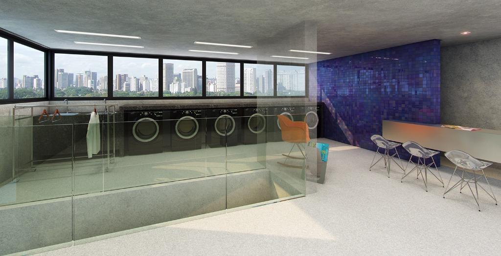 Perspectiva do Laundry Bar