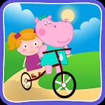 Hippo and Clara: Animated Puzzles Icon