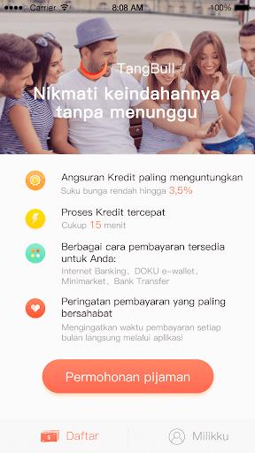 TangBull - Pinjaman Uang Dana Aman & Cepat screenshot 3