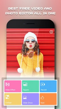 Beauty Video Editor,Cut,Music & Square Pic Collage APK screenshot thumbnail 1