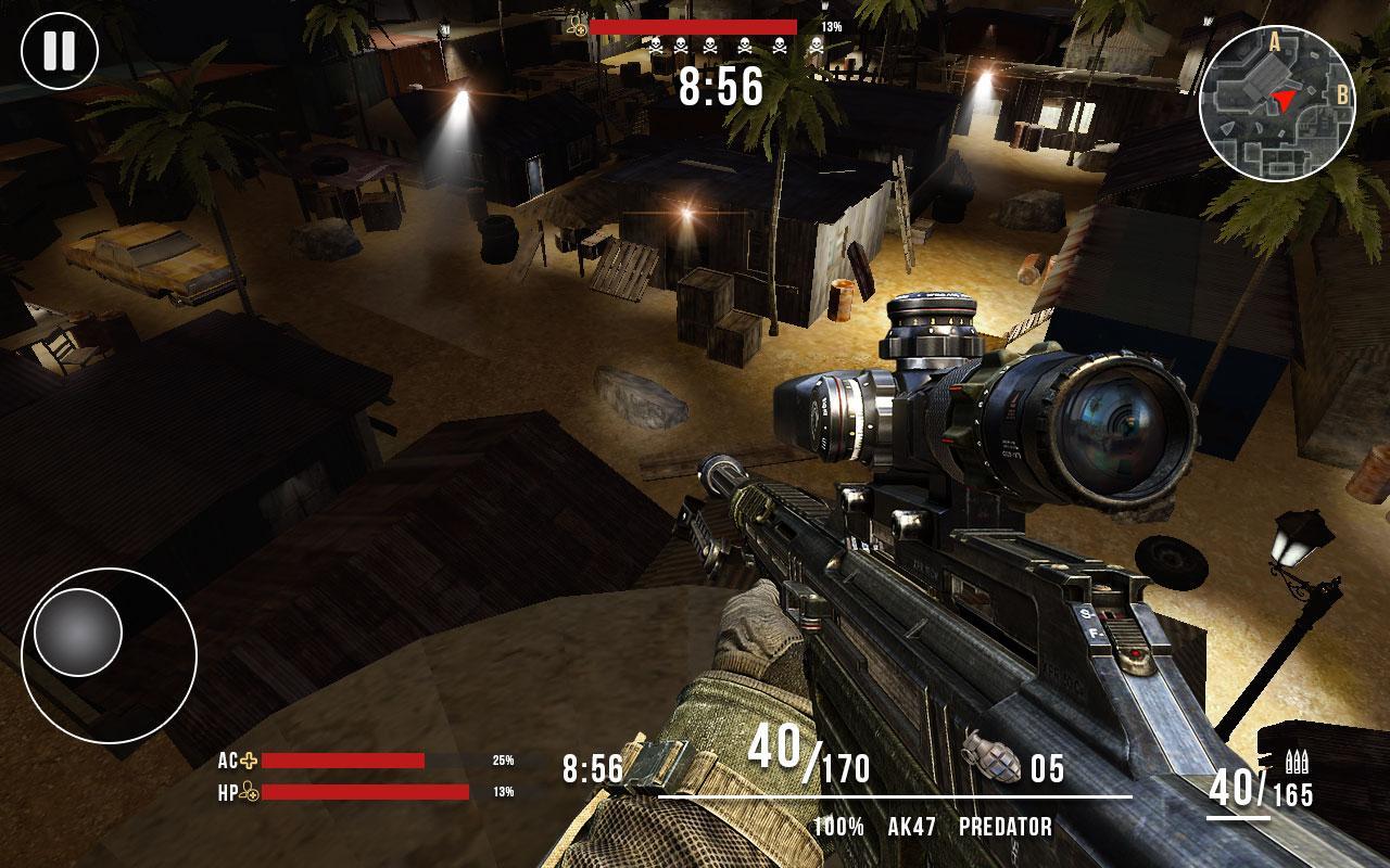 Spinne vs Gangster Scharfschütze II android spiele download