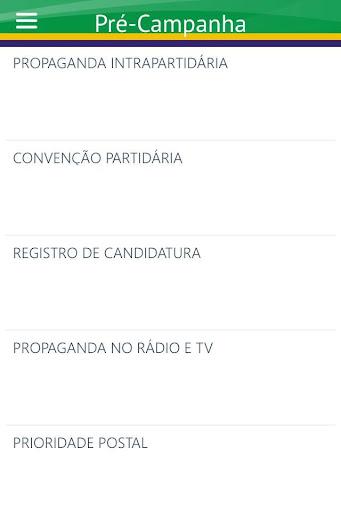 Cartilha Eleitoral - screenshot