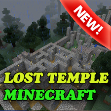 Simple: Lost Temple MCPE map