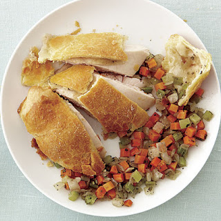 Pastry-Wrapped Chicken with Vegetable Stuffing