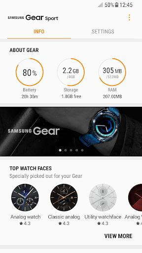 Samsung Gear screenshot 2