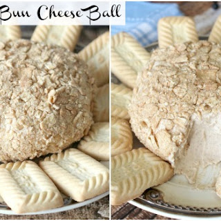 Cinnamon Bun Cheese Ball