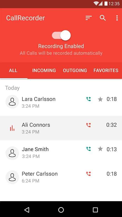 Automatic Call Recorder for Me Screenshot 5