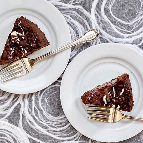 The Best Double Chocolate Cheesecake | #tbtfood