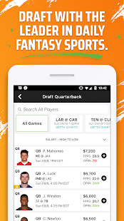 🏈 DraftKings - Daily Fantasy Football for Cash 🤑 for pc